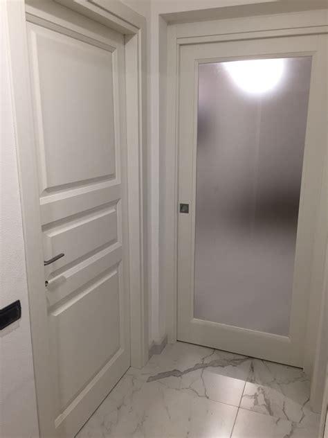 Porte Interne Laccate Bianche Porte Interne In Frassino Laccate Bianche A Poro Aperto