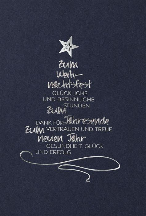 weihnachtskarte blau silber  cm kuvert