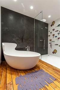 Déco Salle De Bains : design salle de bains moderne en 104 id es super inspirantes ~ Melissatoandfro.com Idées de Décoration