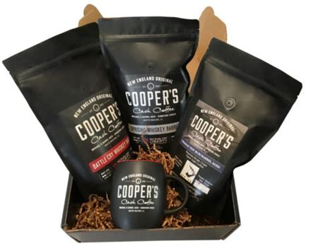 There are many myths about coffee, like dark roasts will wake me up and light roasts are weak or how coffee is coffee, just add cream and sugar. Cooper's Cask Coffee - Cooper's Cask Coffee Company