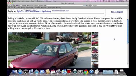 craigslist  cars  sale  owner