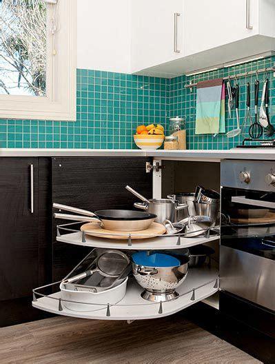 Corner Cupboard Kitchen by Ikea Corner Cupboard Solution Clever Kitchen Corner
