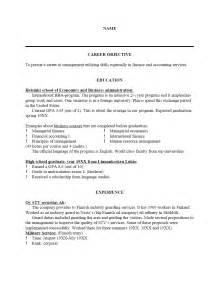 resume objective statement for entry level engineer salary sle resume templates free job cv exle