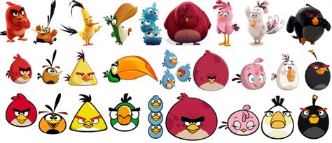 angry birds rainbow evolution  trevlafoe  deviantart
