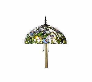 handcrafted tiffany style calla lily floor lamp qvccom With tiffany style calla lily floor lamp
