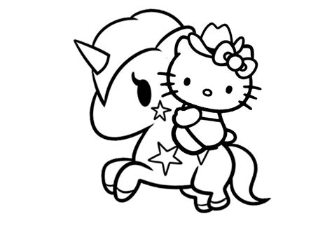 kitty coloring pages printable  print color