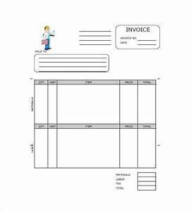 contractor invoice template 8 free sample example With independent contractor invoice template