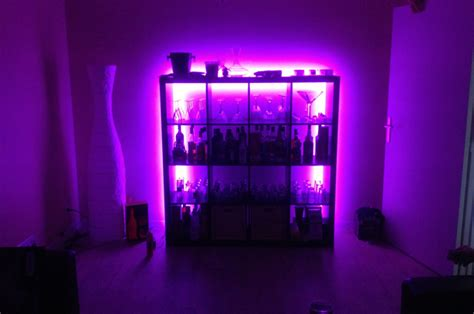 ruban led chambre deco led eclairage idées déco pour les meubles