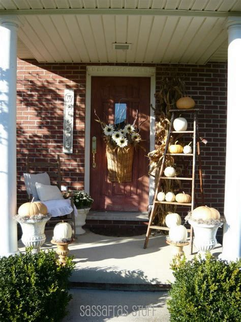 fall front porch ideas veranda home stories
