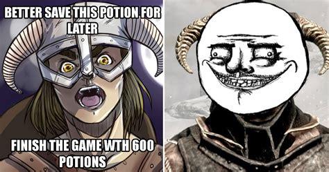 Skyrim Meme 25 Hilariously Dank Skyrim Memes Only True Fans Will