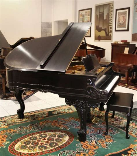 Chickering Country French Style Parlor Grand Piano