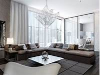 neutral living room Modern House Interiors With Dynamic Texture and Pattern