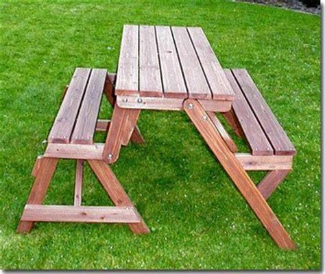 Tisch Für Garten by Holzbank Tisch Sitzgarnitur Clevere Sache Die Kombibank