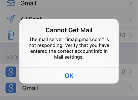 cannot get mail iphone gmail iblogios