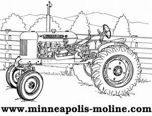 Tractor Outline Cake Ideas and Designs