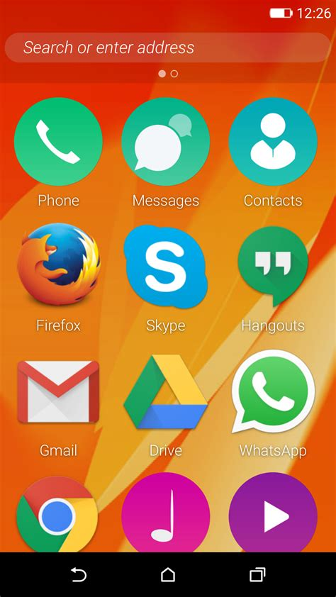 firefox os  developer preview  experimental android