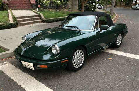 1991 Alfa Romeo by No Reserve 1991 Alfa Romeo Spider Veloce 5 Speed For Sale