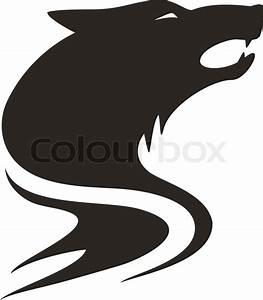 Wolf tribal | Stock Vector | Colourbox