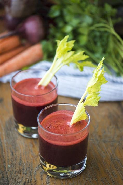 celery juice carrot beet smoothie