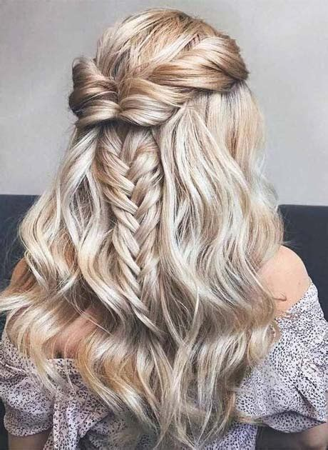 trendy prom hairstyles  long hair  latest fashion