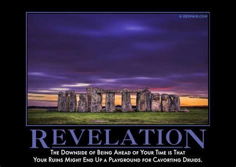 revelation demotivators demotivational posters