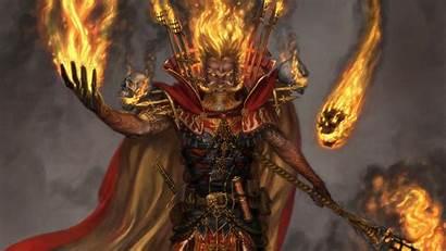Wizard Warhammer Invoker Bright Mage Wizards Hair