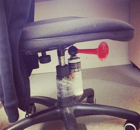 Air Horn Office Chair Prank 4 brilliant pranks for april fool s day aussie handyman