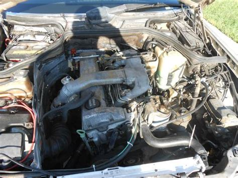 how does a cars engine work 1992 mercedes benz 400se electronic throttle control purchase used 1992 mercedes 300d w124 body with om602 engine in st george utah united states
