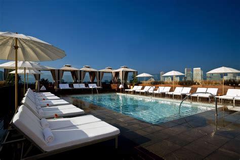 The Best Rooftop Pools In Los Angeles
