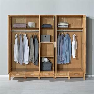 Kleiderschrank 8 Türig : kleiderschrank new oak 5 t rig eiche ge lt d nisches bettenlager ~ Markanthonyermac.com Haus und Dekorationen