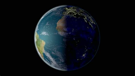spinning earth day  night stock footage video  royalty   shutterstock