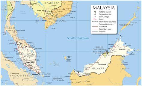 map  malaysia malaysia map malaysia city map map