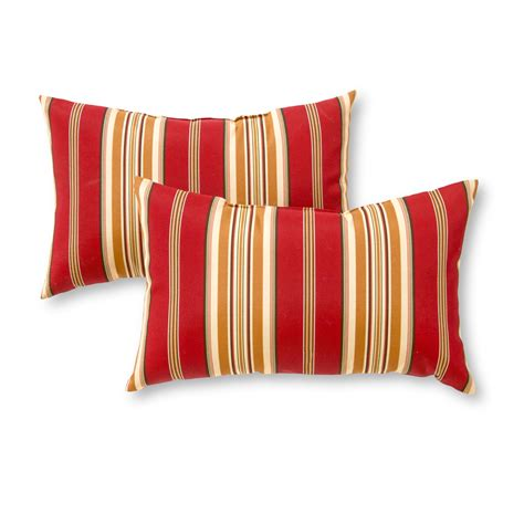 outdoor accent pillows greendale home fashions rectangle outdoor accent pillows