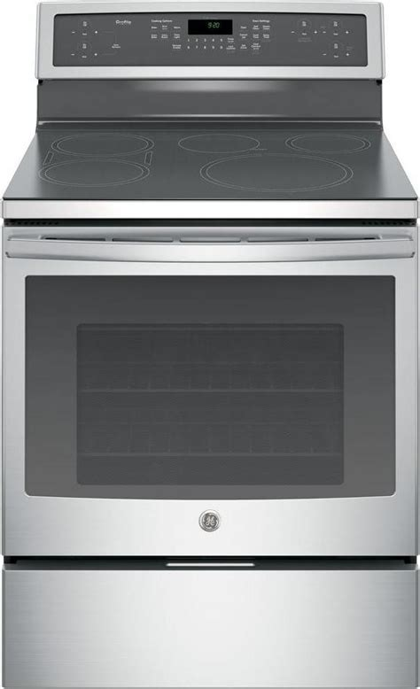 "PHB920SJSS   GE Profile 30"" Free Standing Induction Range"