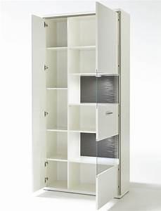 Esszimmerschrank Weiß Hochglanz : vitrine wei hochglanz 94x201x38 cm glasvitrine wohnzimmer esszimmer travis 5 ebay ~ Frokenaadalensverden.com Haus und Dekorationen