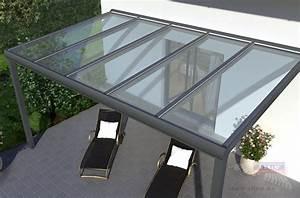 Aluprofile Für Glas : alu terrassendach inklusive vsg glas das rexin magazin ~ Orissabook.com Haus und Dekorationen