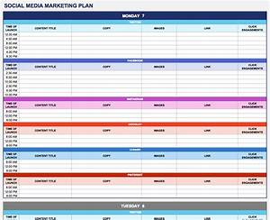 Free marketing plan templates for excel smartsheet for Publicity plan template