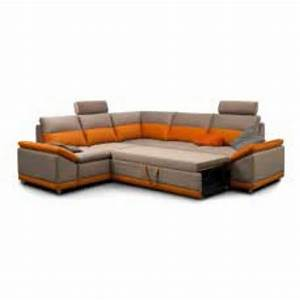 canape d angle convertible tissu topiwall With canapé d angle convertible orange