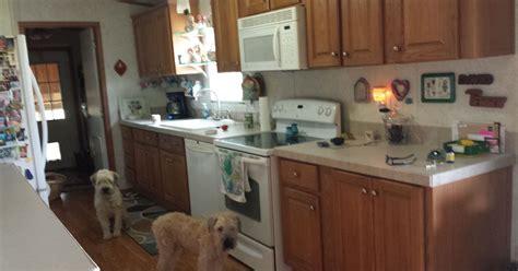 painting pressboard kitchen cabinets update pressboard cabinets hometalk 4063