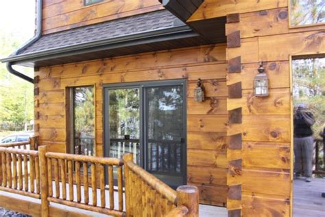 log cabin stain see what your log home would look like with different