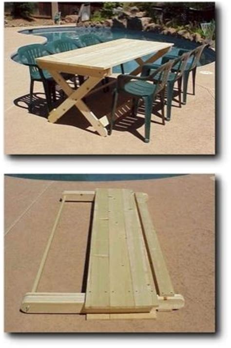wood folding camp table plans woodworking projects plans