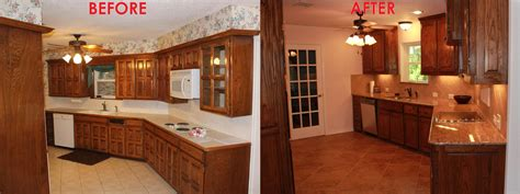 Kitchen Floor Before And After by Small Kitchen Remodel Before And After For Stunning And