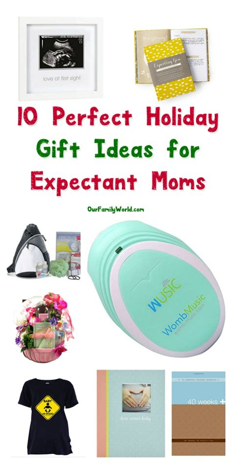 10 outstanding christmas gift ideas for expectant moms