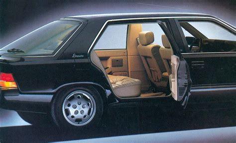 renault 25 limousine renault 25 limousine photos and comments www picautos com