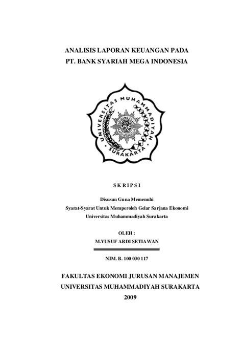 Judul Skripsi Ekonomi Pembangunan Universitas Indonesia