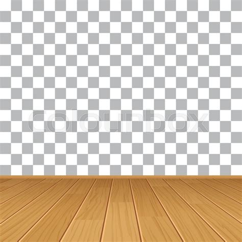 Top Vector Backgrounds by Vector Wood Table Top On Isolated Background Stock