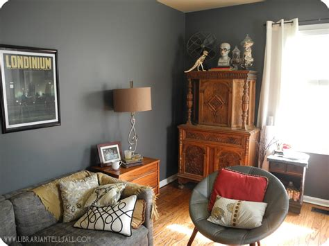 Living Rooms With Gray Walls Home Design
