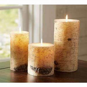 natural candles - 5 - In Decors