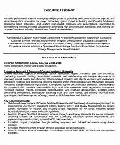 administrative assistant resume objective 6 examples in With executive assistant objectives