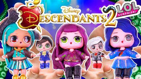 Descendants 2 Toys Lol Surprise Dolls Series 2 Custom D